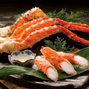 ふるさと納税の本たらば蟹ボイル脚1kg