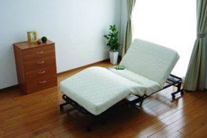 ふるさと納税の折りたたみコイル電動ベッド