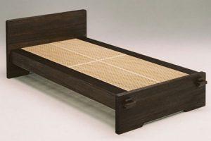 ふるさと納税の桐組子ベッド「あんばい」