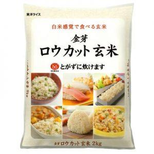ふるさと納税の金芽ロウカット玄米(無洗米)