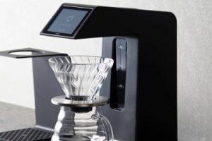 ふるさと納税のHARIO タッチパネル搭載次世代コーヒーメーカー