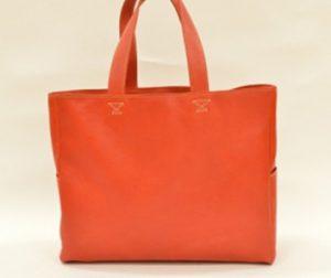 ふるさと納税のトートバッグ(minca RED)