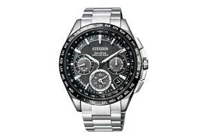 ふるさと納税で貰えるシチズンの腕時計(GPS衛星電波時計F900)