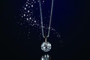 ふるさと納税で貰える1カラット天然ダイヤモンドネックレス