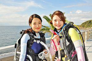 ふるさと納税でゲットできるダイビングのPADIライセンス(二人用)