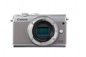 ふるさと納税で貰えるミラーレスカメラ EOS M100 ボディ(グレー)