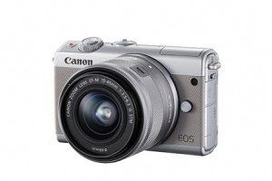 ふるさと納税で貰えるミラーレスカメラ EOS M100 レンズキット(グレー)