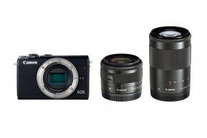 ふるさと納税で貰えるCanonミラーレスカメラ EOS M100 ダブルズームキット