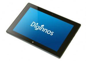 ふるさと納税で貰えるタブレット端末(Diginnos DG-D09IW2SL)