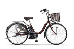 ふるさと納税で貰えるYAMAHA電動アシスト自転車(ナチュラM)(26インチ・カラメルブラウン)